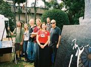 """OVAL Artists at """"Art & Living Expo"""" at Lake Eola."""