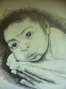 lil cj drawing