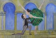 next stage in 5th Pas De Deux painting
