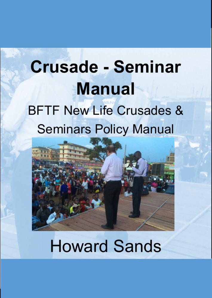 Crusade-Seminar Manual