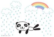 ฝนตกใส่ตา