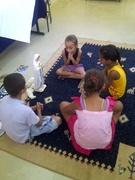 Crianças no projeto!