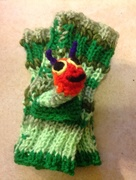 Hand warmers and finger puppet