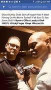 """MCFL Artist """"Diar Lansky"""" On the set with Sticky Fingaz"""