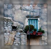 window, Corfu Town