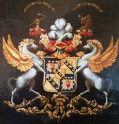 Noble-crest-of-Sir-John-James-Scott-Douglas-e1509038851618