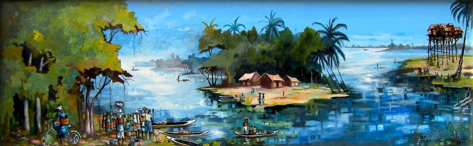 """""""Le village de pêcheurs"""""""