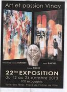 XXIIeme EXPOSITION PEINTURE ET SCULPTURE