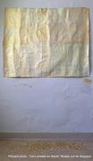 P Kinard acryl sur papiers divers, Musée Juif de Belgique,lors de l'exposition Cent artistes en liberté