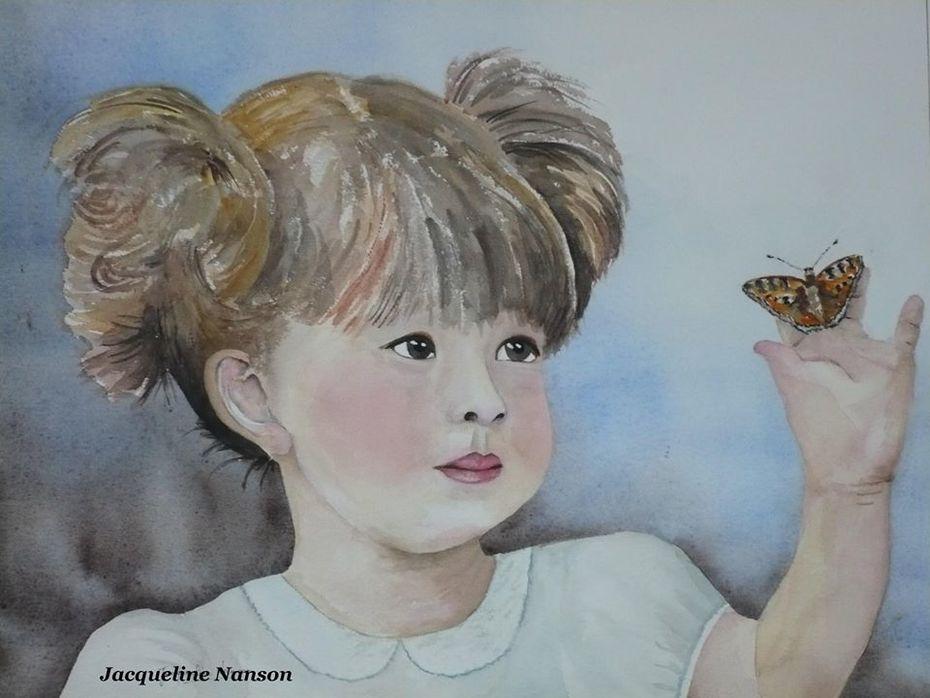 ' bonjour papillon '