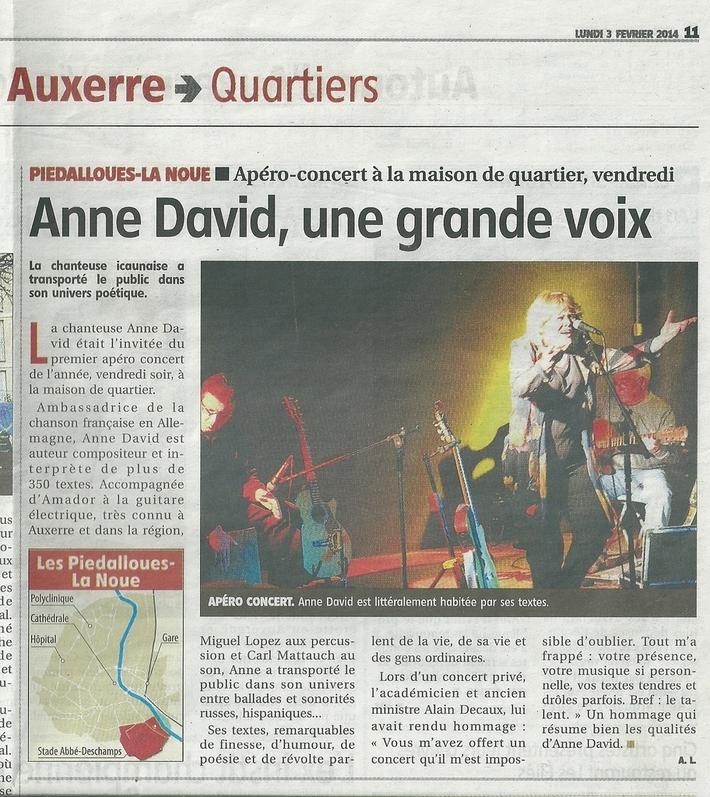 Auxerrre 03 02 14 concert
