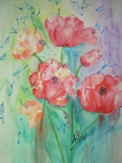 TULIPES AQUARELLE