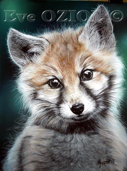eve oziol - baby fox