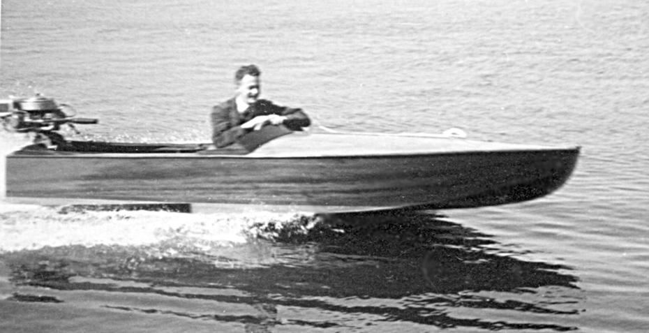 -Mini Sverige- biden tagen i Arkösund 1935