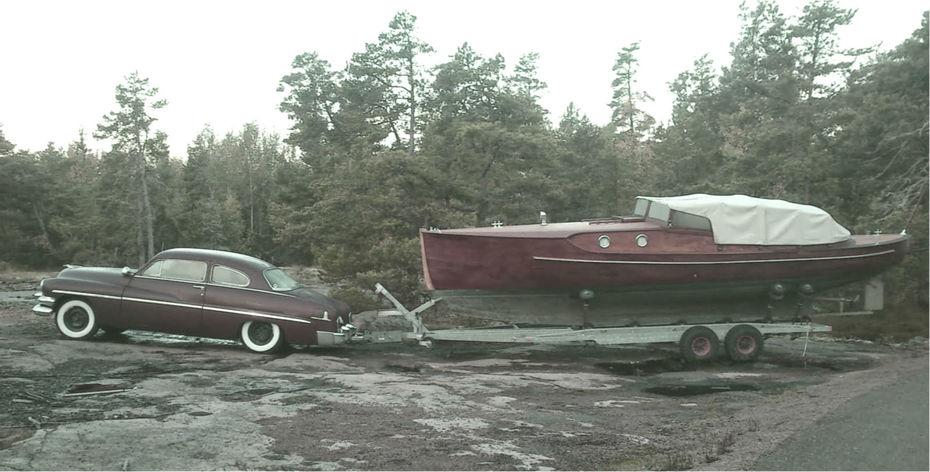 Everts gamla båt.
