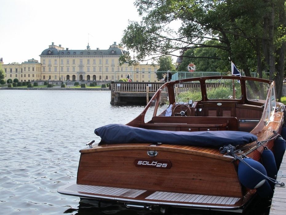 Drottningholm får fint besök