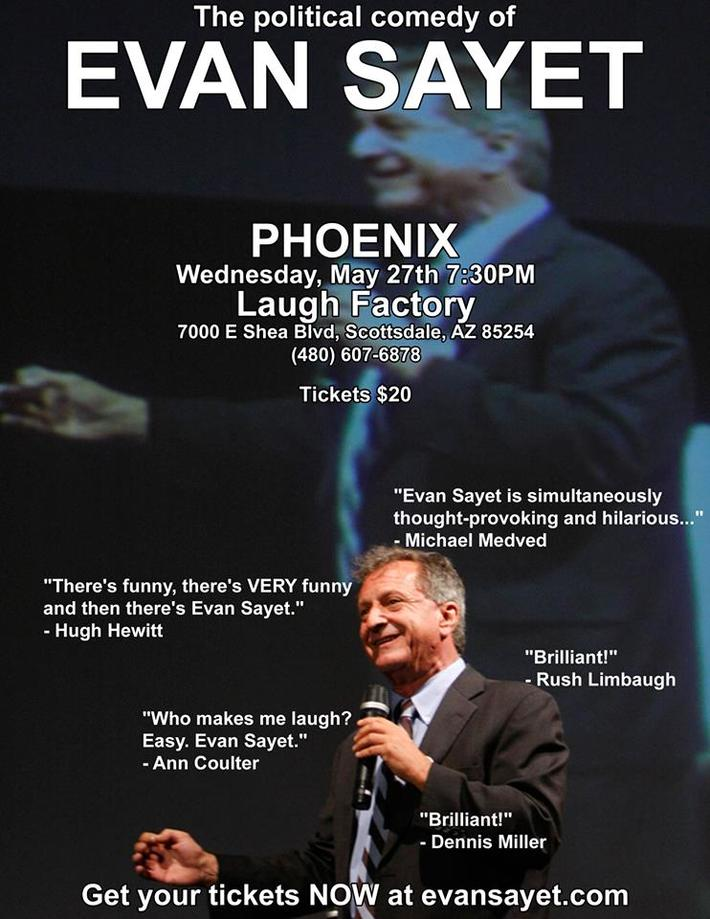 Evan Sayet in PHOENIX