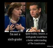 Nice come back Senator Cruz!