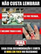 Do not wear jewelry when practicing Judo or Jiu Jitsu this can happen to you