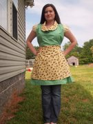 "My ""Apple or Cherry Darlin'?"" Apron"
