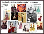Inspiration Collage Christmas Party Dress 2011