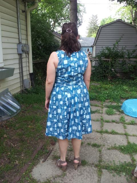 Geeky Dress- Back
