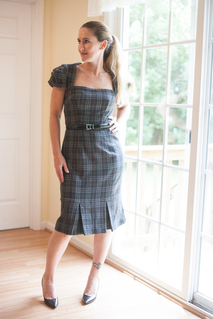 My Plaid Galaxy Dress