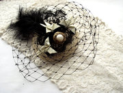 Baroque Butterflies Fascinator
