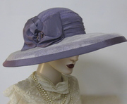 French Lavender Capeline Hat