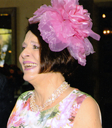 The LESLIE Fascinator by Diana Cavagnaro Couture Millinery