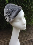 1950's style cocktail hat