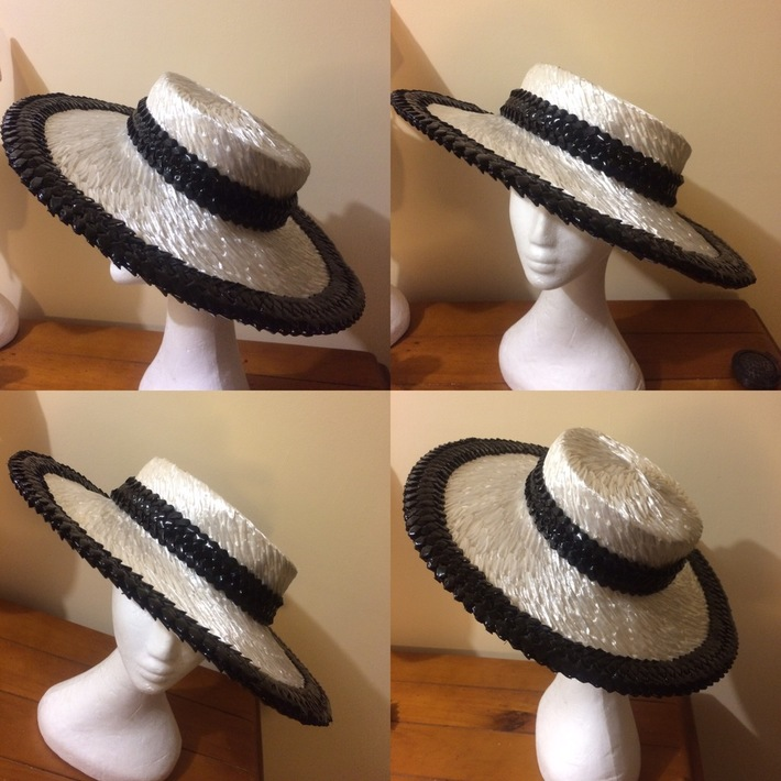 My vintage straw boater