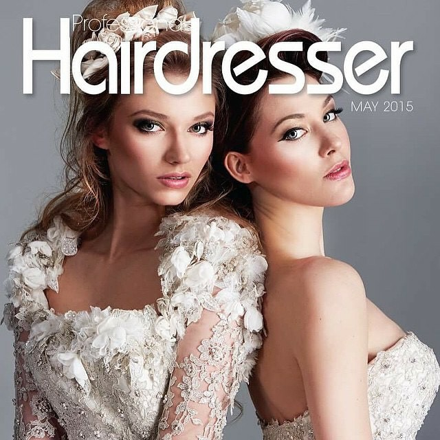 balmain hair pro hairdresser magazine