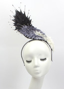 """Wing"" Feathered Headpiece"