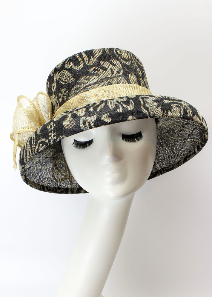 Audrey - Elegant Floral with Bow
