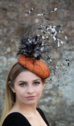 'ORANGIA' headpiece by HATS by Emelle