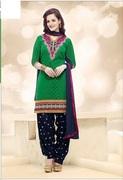 Shop Latest Indian Patiala Salwar Kameez