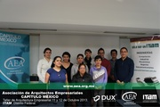 Algunos de los alumnos del ITAM