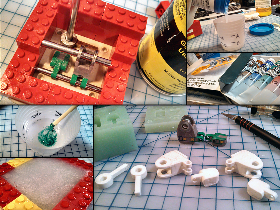 """""""Will"""" Resin Feet Armature Molding and Casting"""