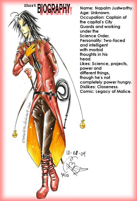 Character Bio: Napalm