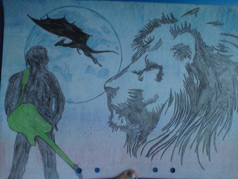 lejon och drake