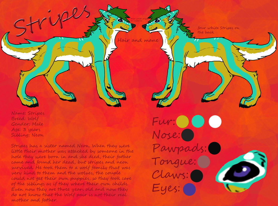 Stripes-character-cheet