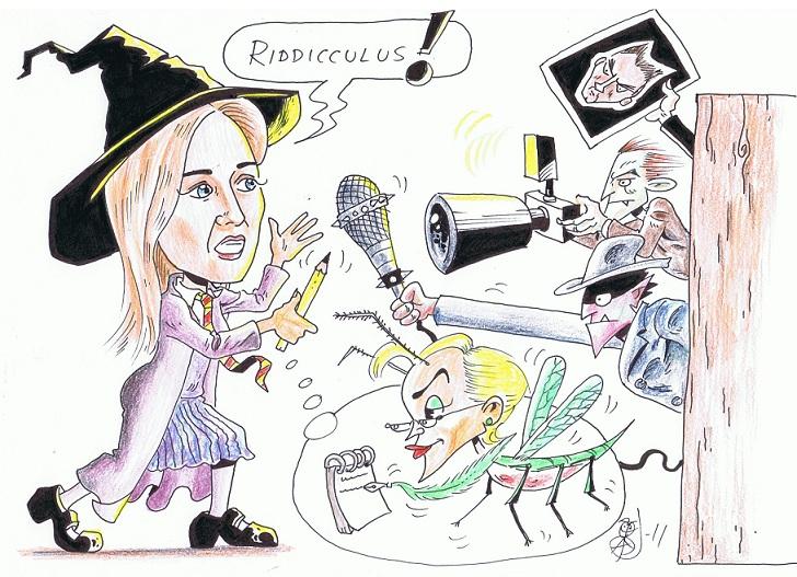 Joanne Rowling möter en Boggart