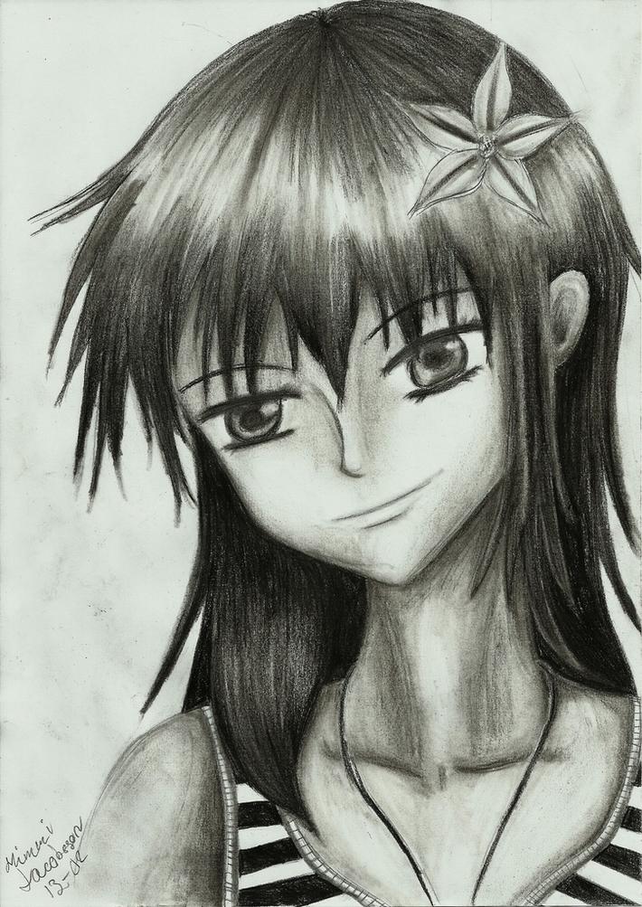 漫画の女の子