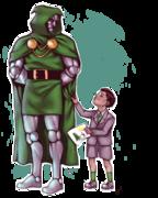 Kristoff Vernard och Doctor Doom