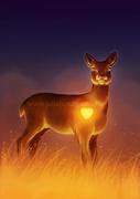 Dawn of the deer