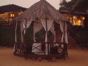 Dune Shack Restaurant with a romatic private seating outside