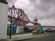 Forth Bridge and Ferry Pier