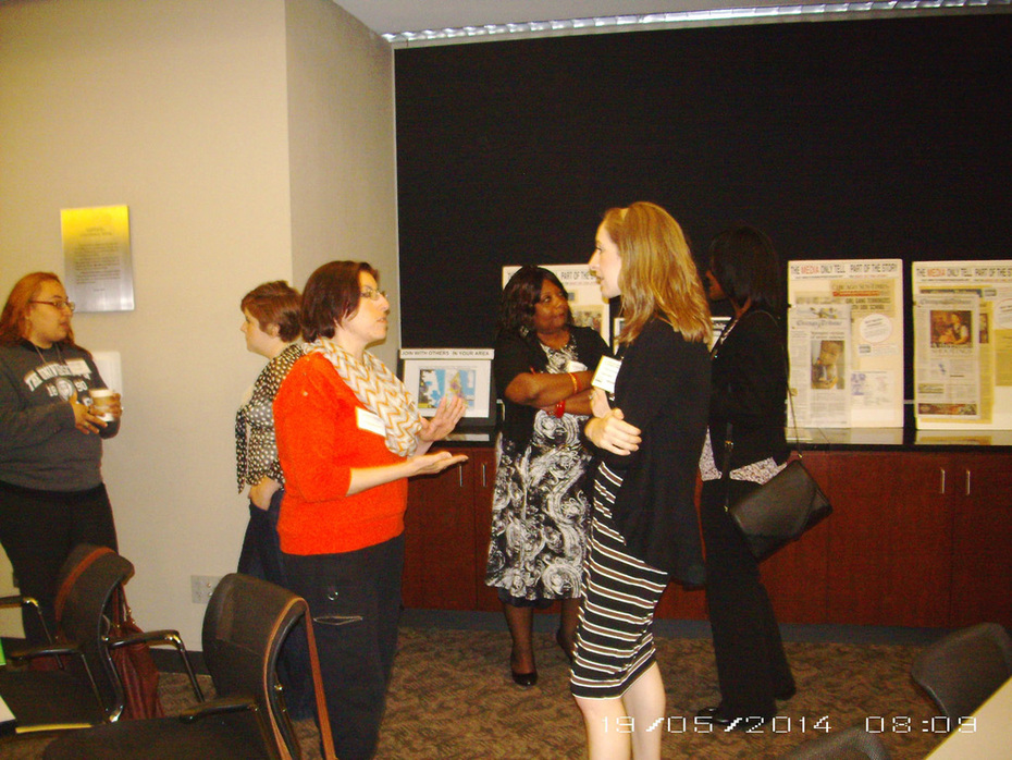 Networking at Tutor/Mentor Conference-c