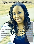 flyy, female & fabulous Magazine preview issue cover